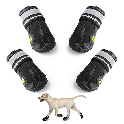 Dog Boots To Keep Dog Warm while camping