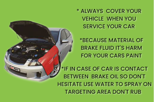 cover your vehicle while working on car