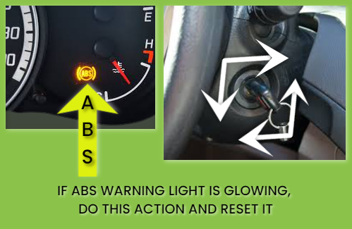guide for reset abs warning light