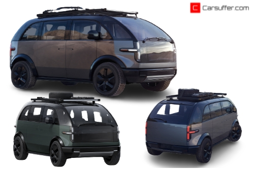 Canoo adventure electric vehicle with some advanced features