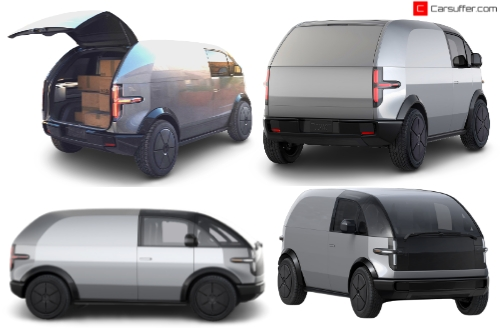 Canoo lifestyle delivery electric vehicle