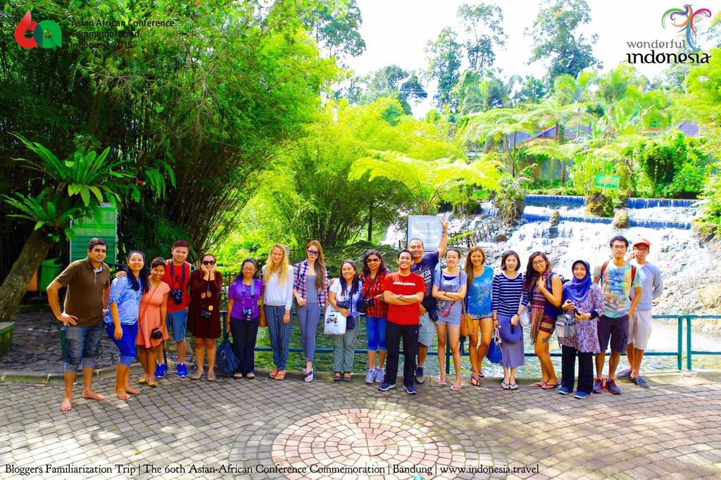 Bloggers Familiarization Trip, The 60th Asian-African Conference Commemoration. Invited by Indonesian Tourism Board.