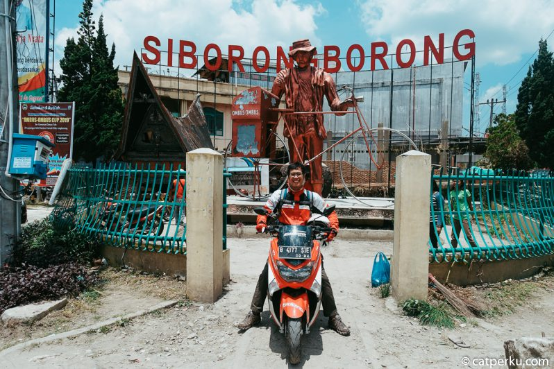 Touring Pertamina Enduro Go Out And Adventure ini lewat kota Siborongborong juga!