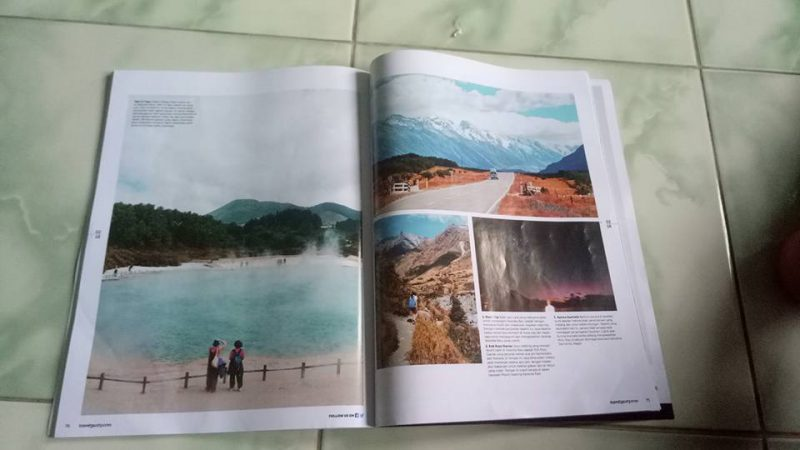 New Zealand adventure on Travel3sixty air asia Inflight magz