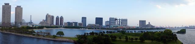 Odaiba, waterfront city.