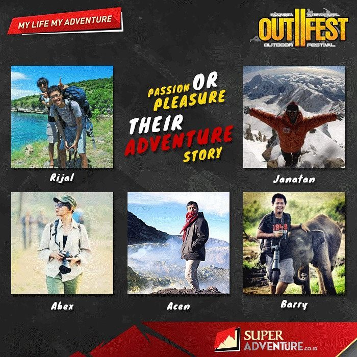 Speaker At Indonesia International Outdoor Festival - Outfest 2017