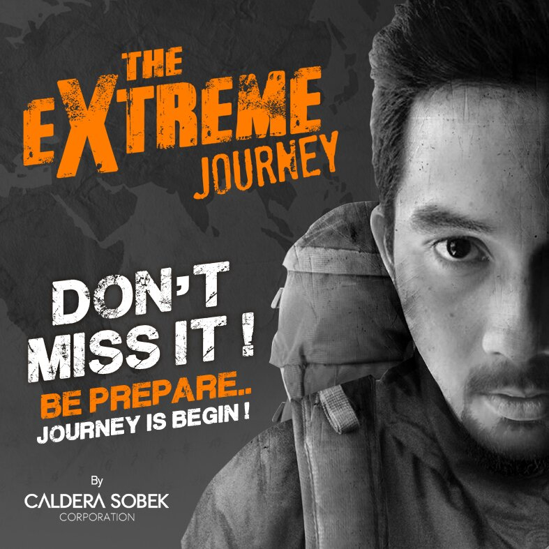 ARE YOU READY FOR #THEEXTREMEJOURNEY!!? THE DESTINATION IS NOWHERE!