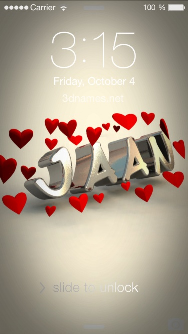 Jaan Love A Name Wallpaper Hd