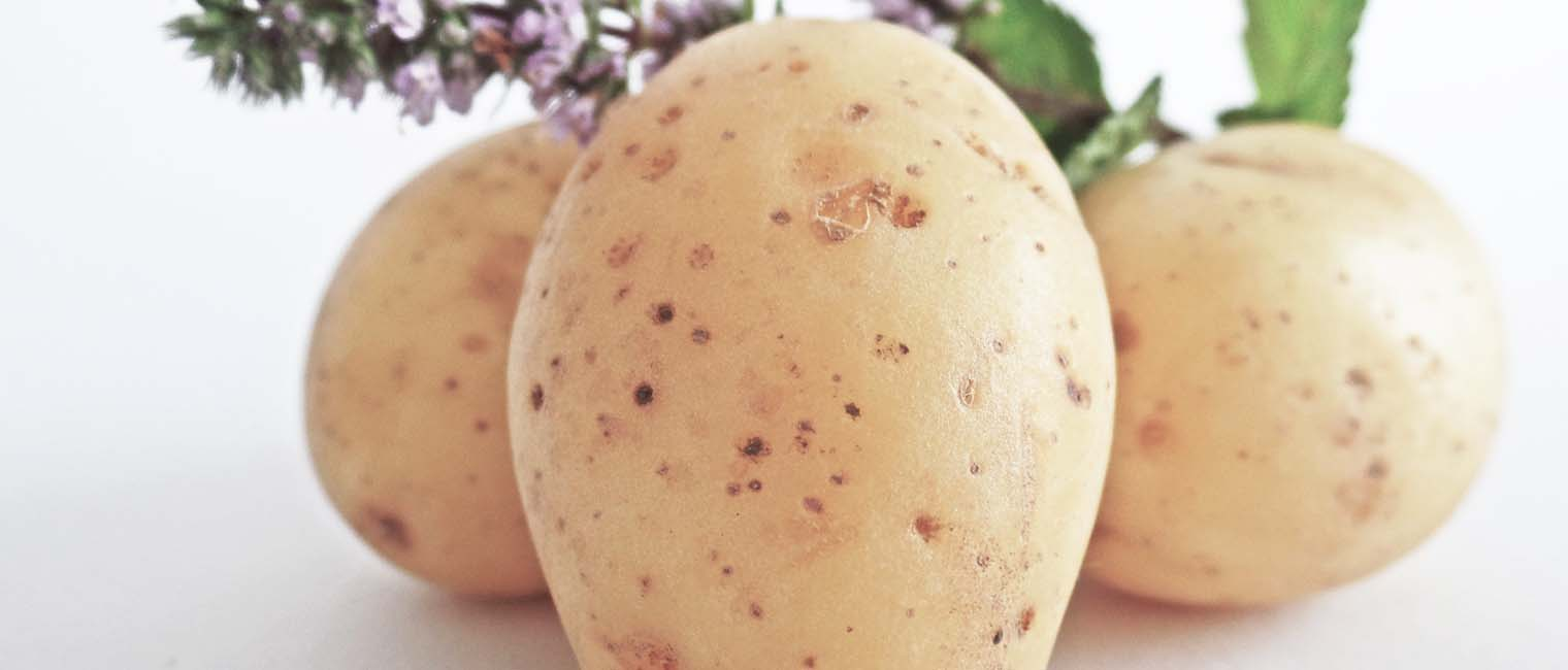potatoes are rich in potassium, which helps manage water retention as well.
