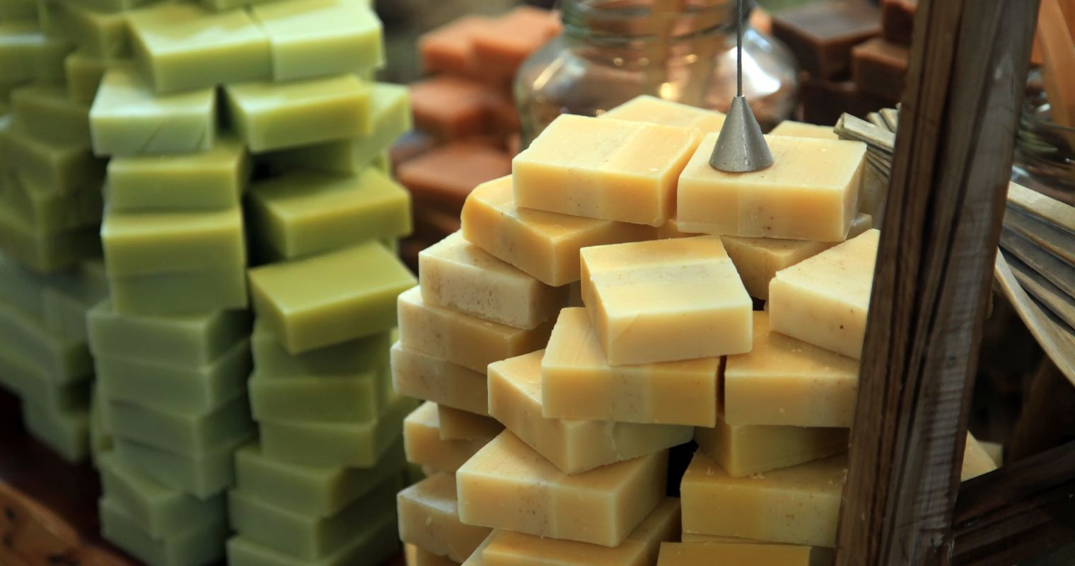 hand made mild soaps