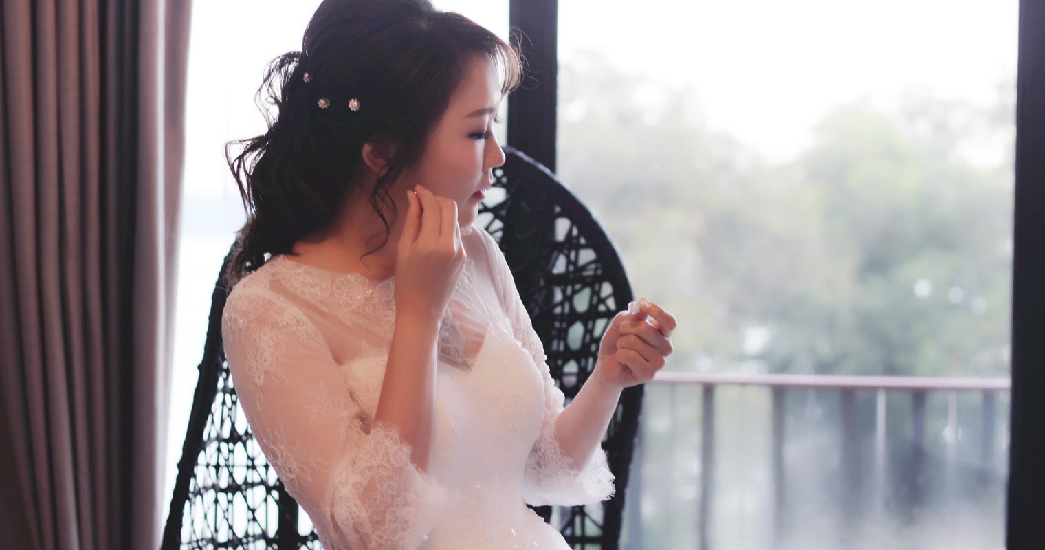 Skin prep before your big day is important! The last thing you want is flaking skin on your wedding day.