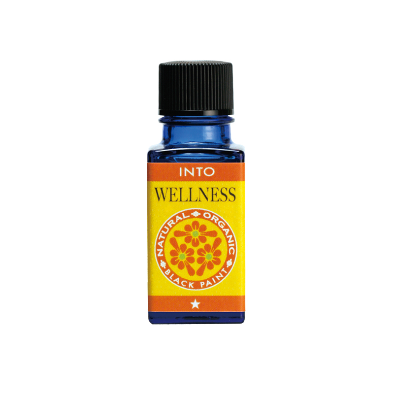 Black Paint INTO Wellness essential oil for menstrual cramps