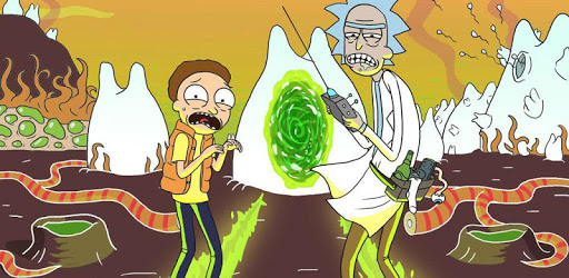 Rick And Morty Live Wallpaper Pc
