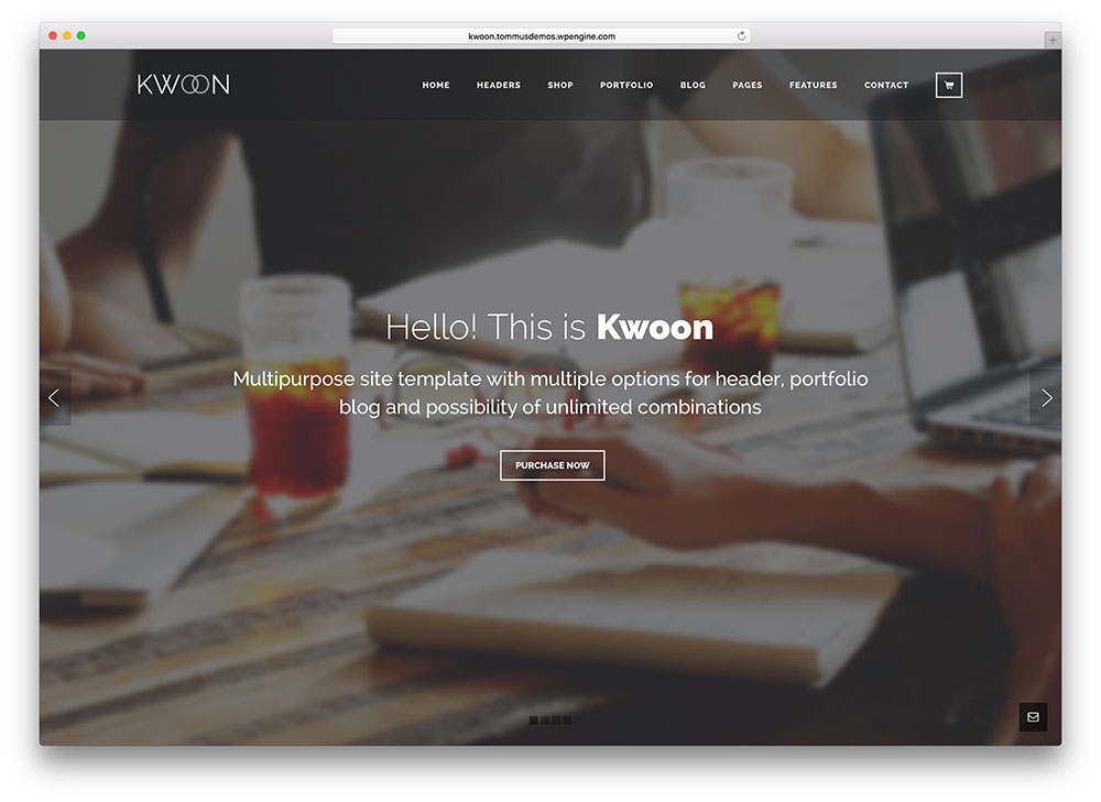 kwoon - multipurpose theme