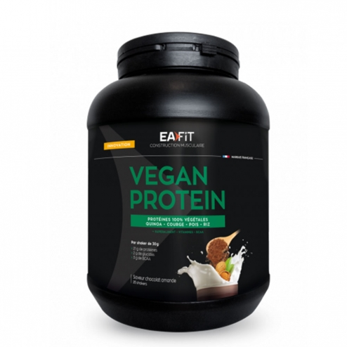 Vegan Protein 750g Construction Musculaire Eafit Easyparapharmacie