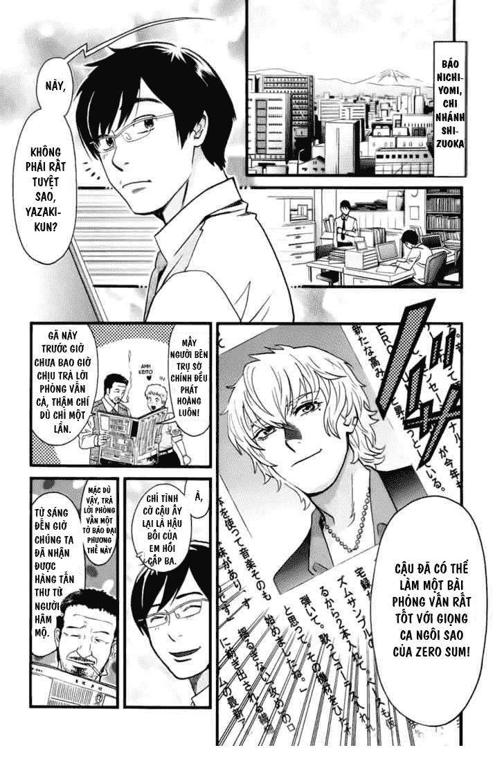 Cross And Crime chapter 3 - Trang 3