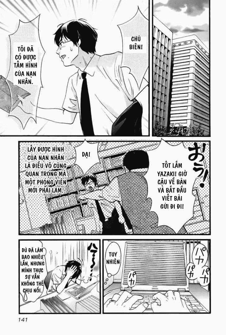 Cross And Crime chapter 7 - Trang 5