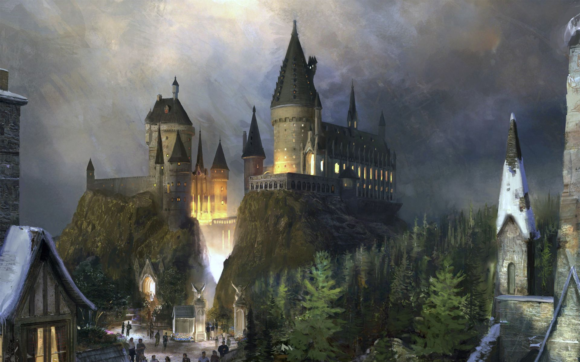 Hogwarts Desktop Wallpaper Harry Potter