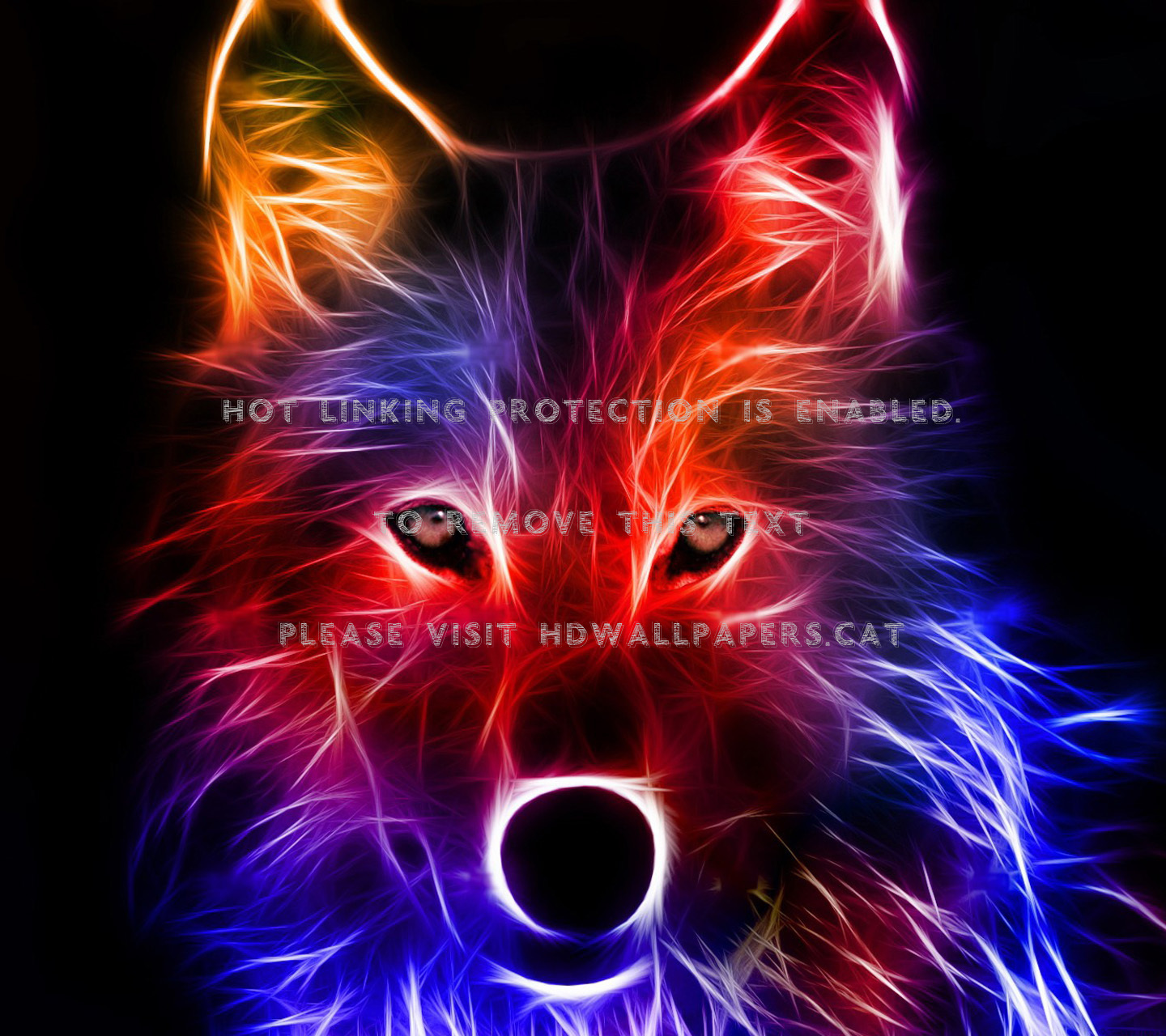 Galaxy Wolf Wolf Mythical Creature Cool Wallpaper