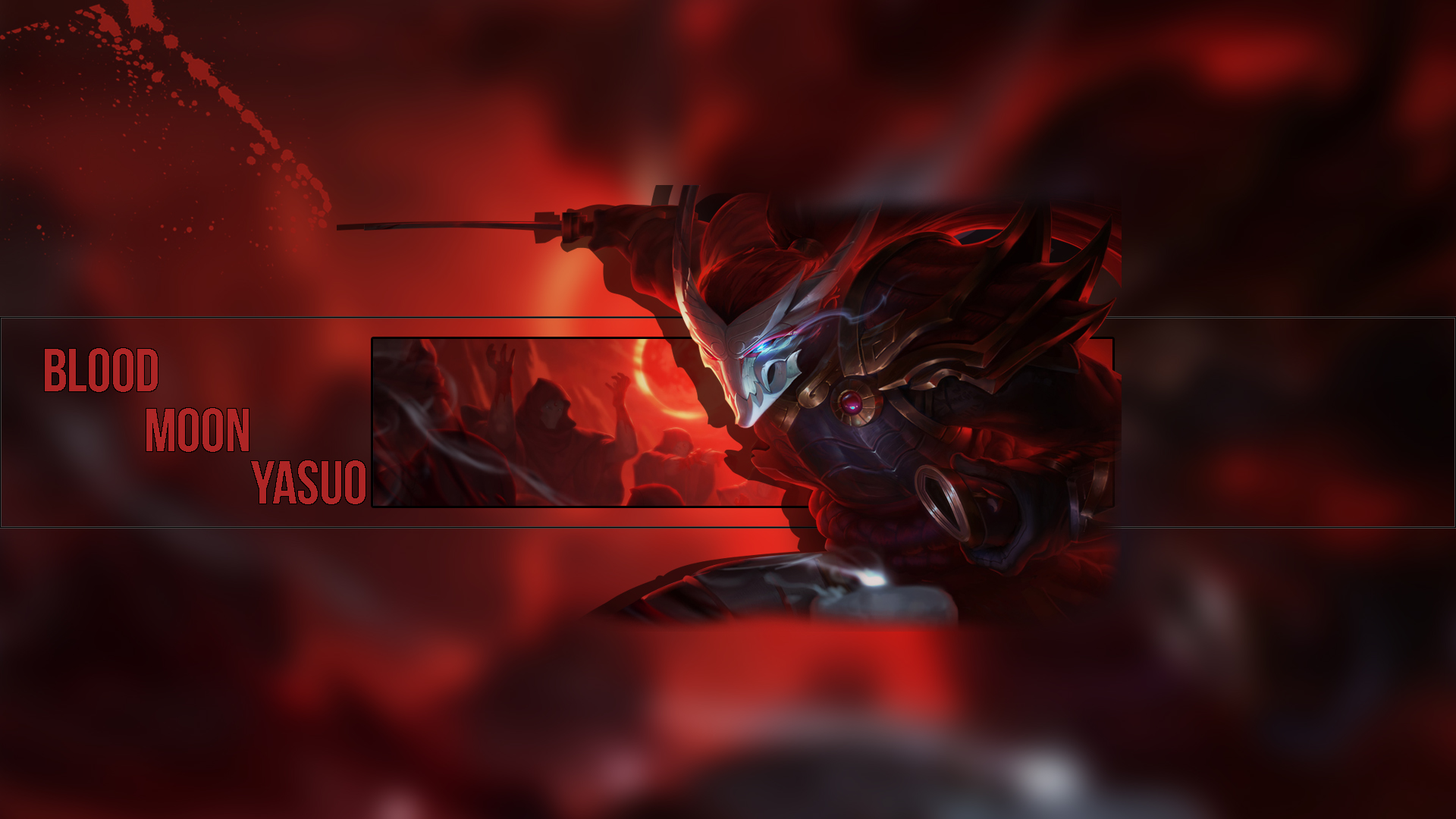 Blood Moon Yasuo Wallpaper 1920x1080