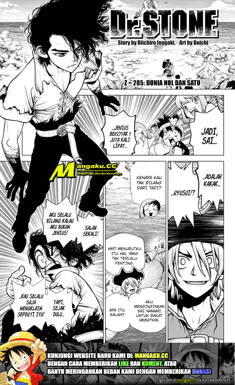 Dr. Stone: Chapter 205 - Page 2