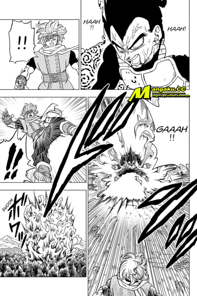 Dragon Ball Super: Chapter 74.2 - Page 22