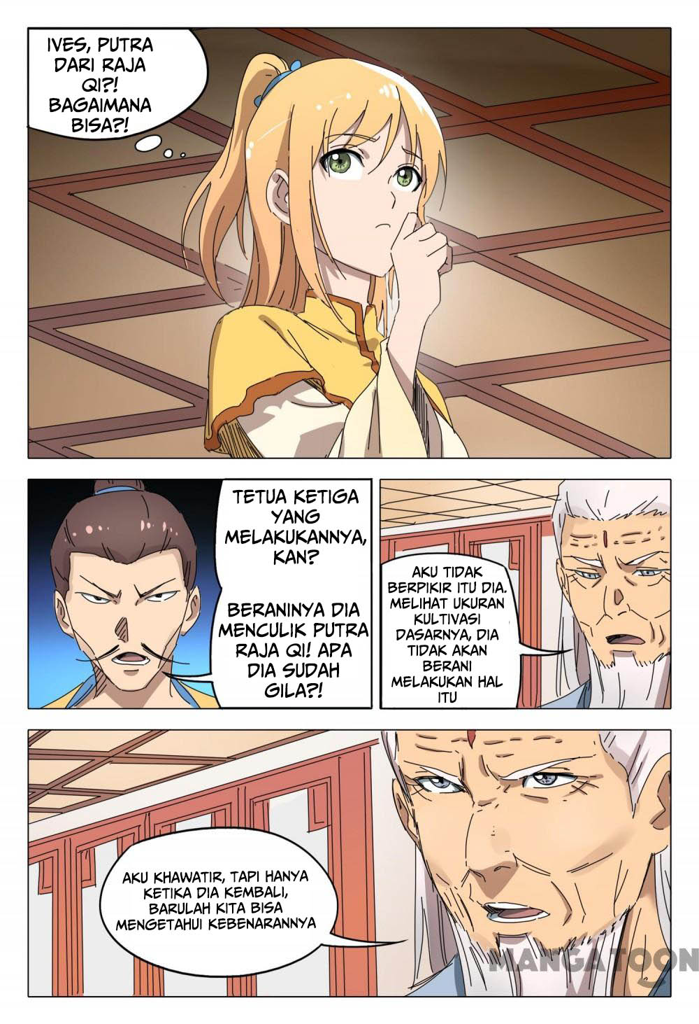 Deity's Path through Ten Thousand Worlds: Chapter 92 - Page 6