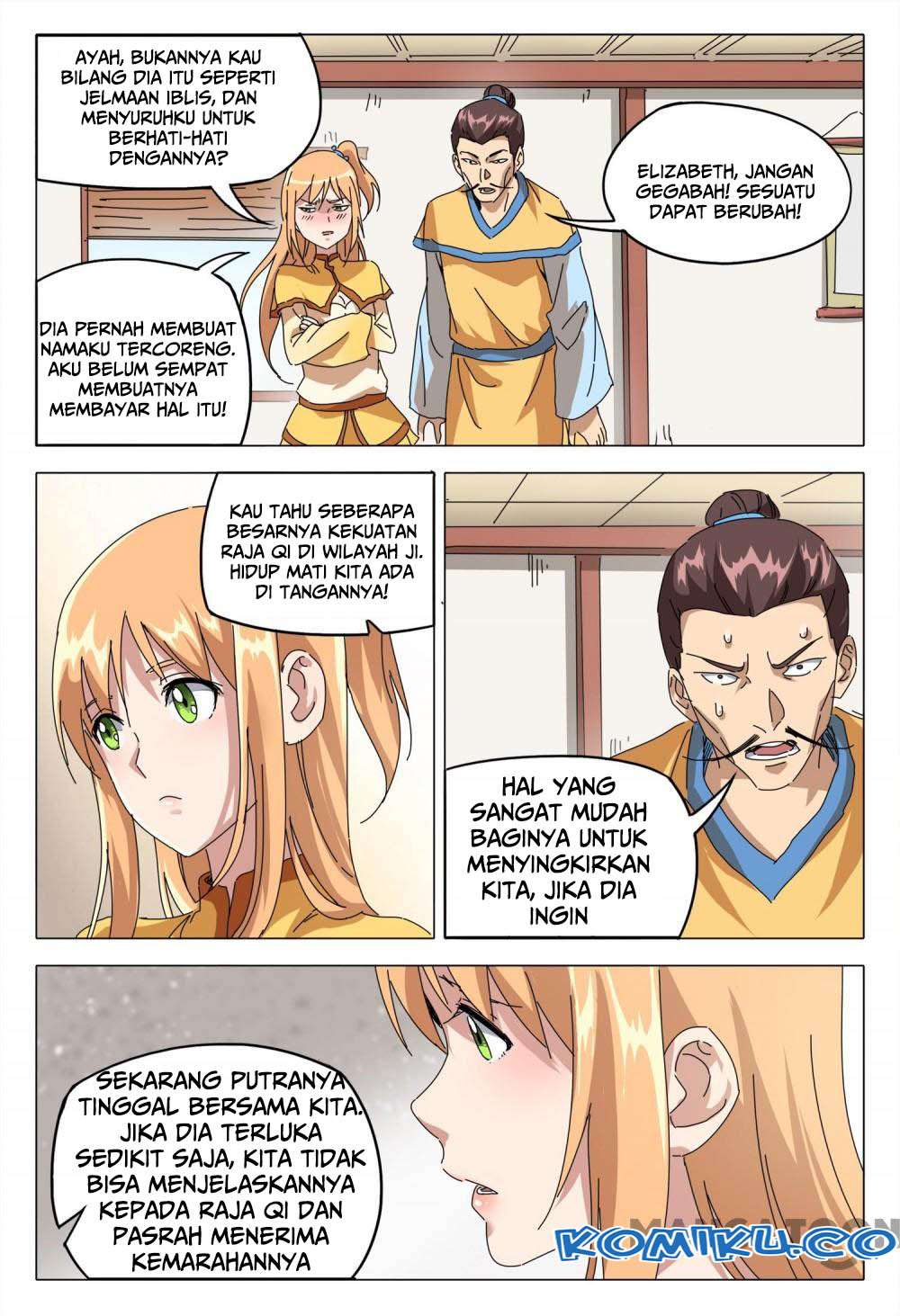 Deity's Path through Ten Thousand Worlds: Chapter 92 - Page 8