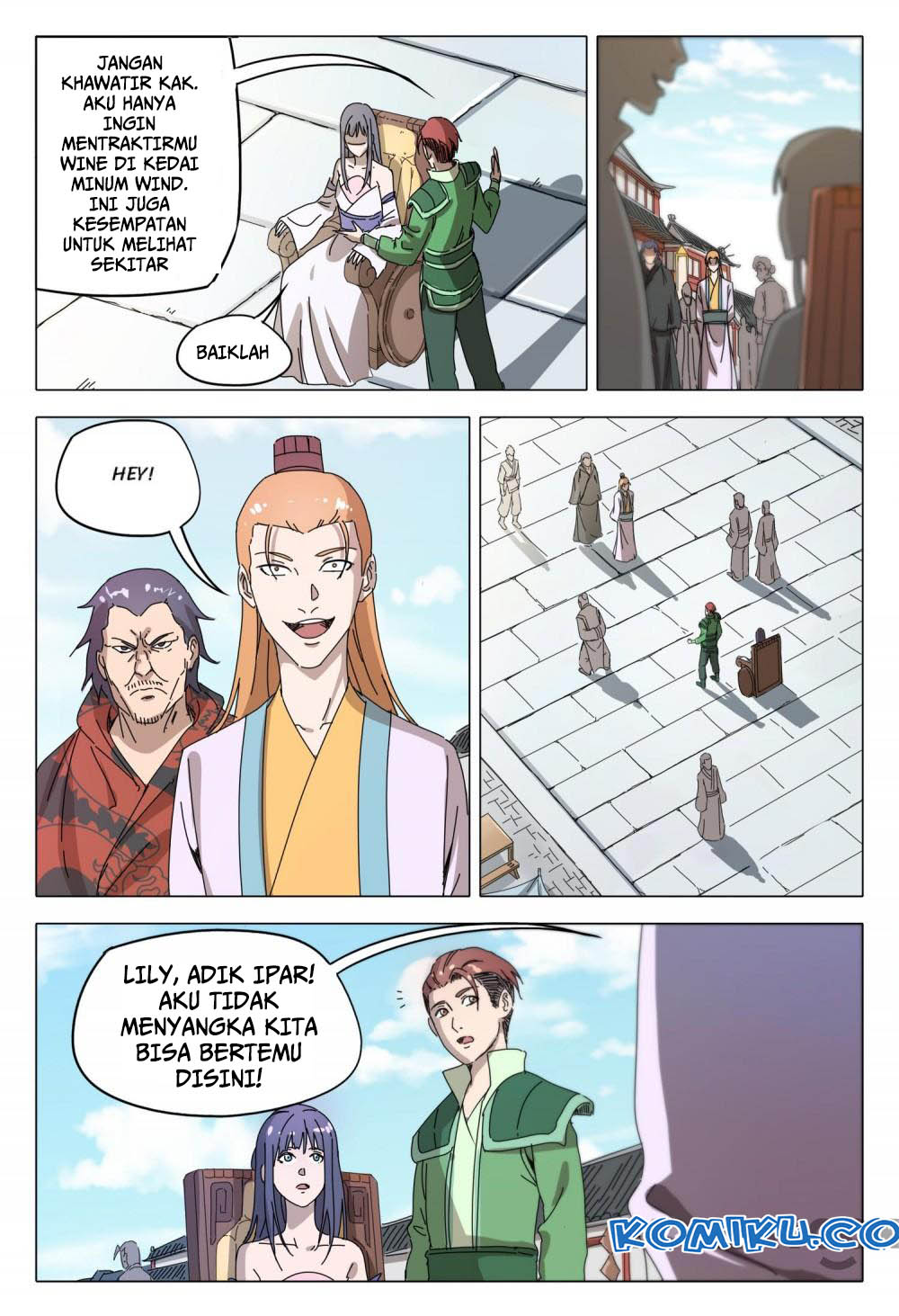 Deity's Path through Ten Thousand Worlds: Chapter 93 - Page 5