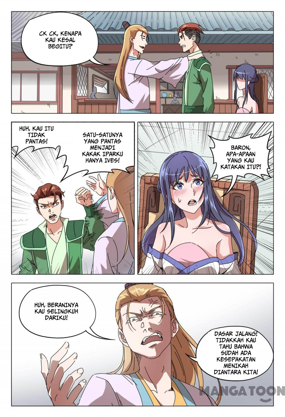 Deity's Path through Ten Thousand Worlds: Chapter 93 - Page 7