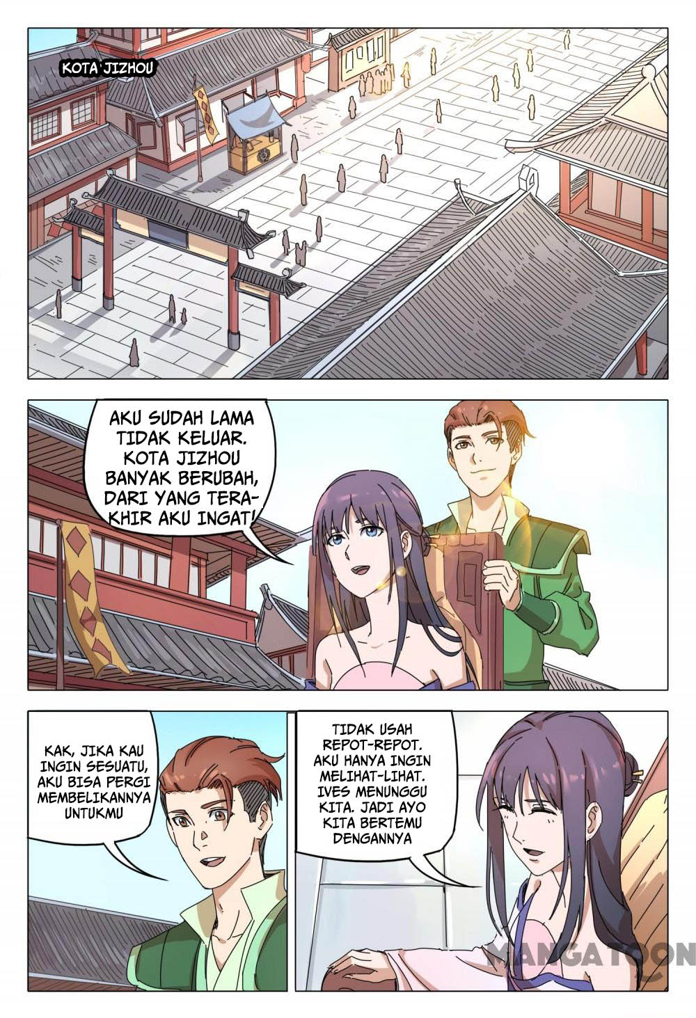 Deity's Path through Ten Thousand Worlds: Chapter 93 - Page 3