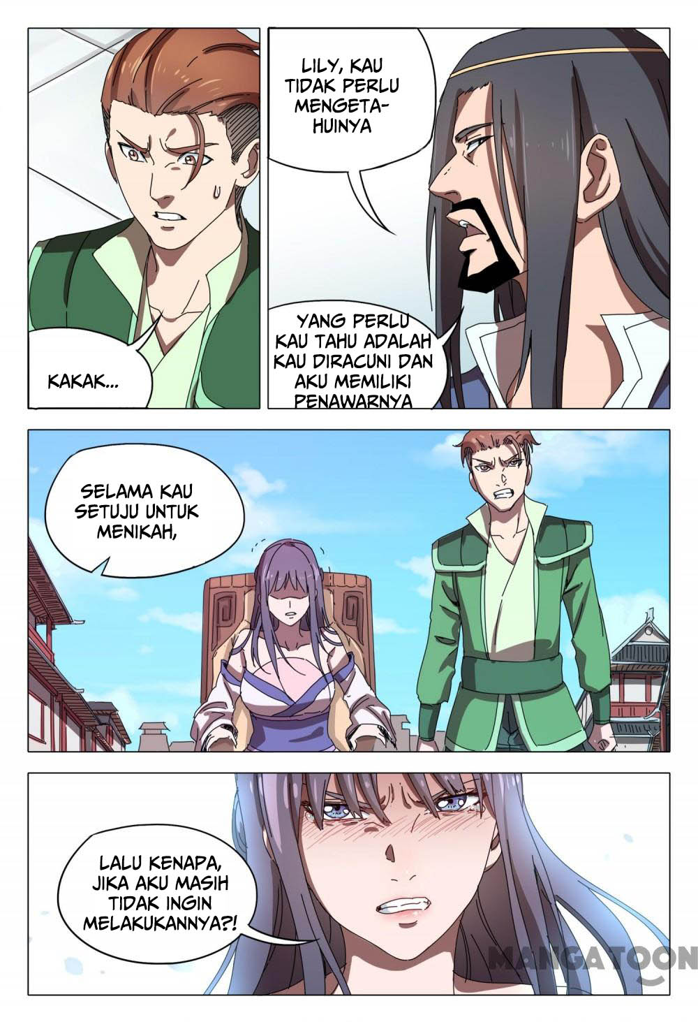 Deity's Path through Ten Thousand Worlds: Chapter 94 - Page 6