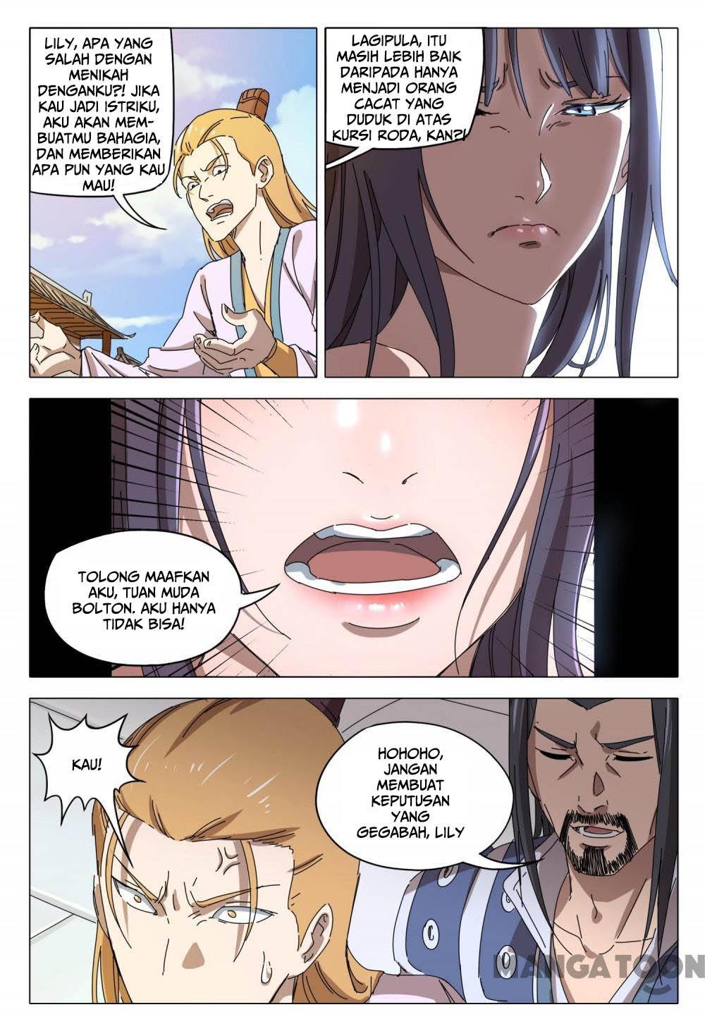 Deity's Path through Ten Thousand Worlds: Chapter 94 - Page 3
