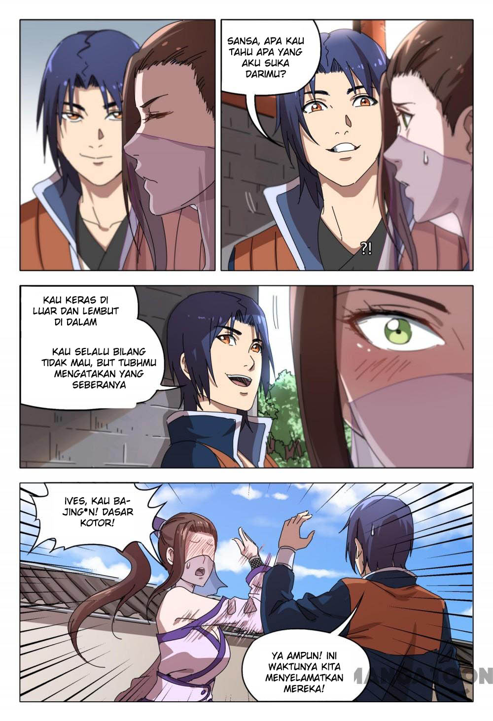 Deity's Path through Ten Thousand Worlds: Chapter 95 - Page 4