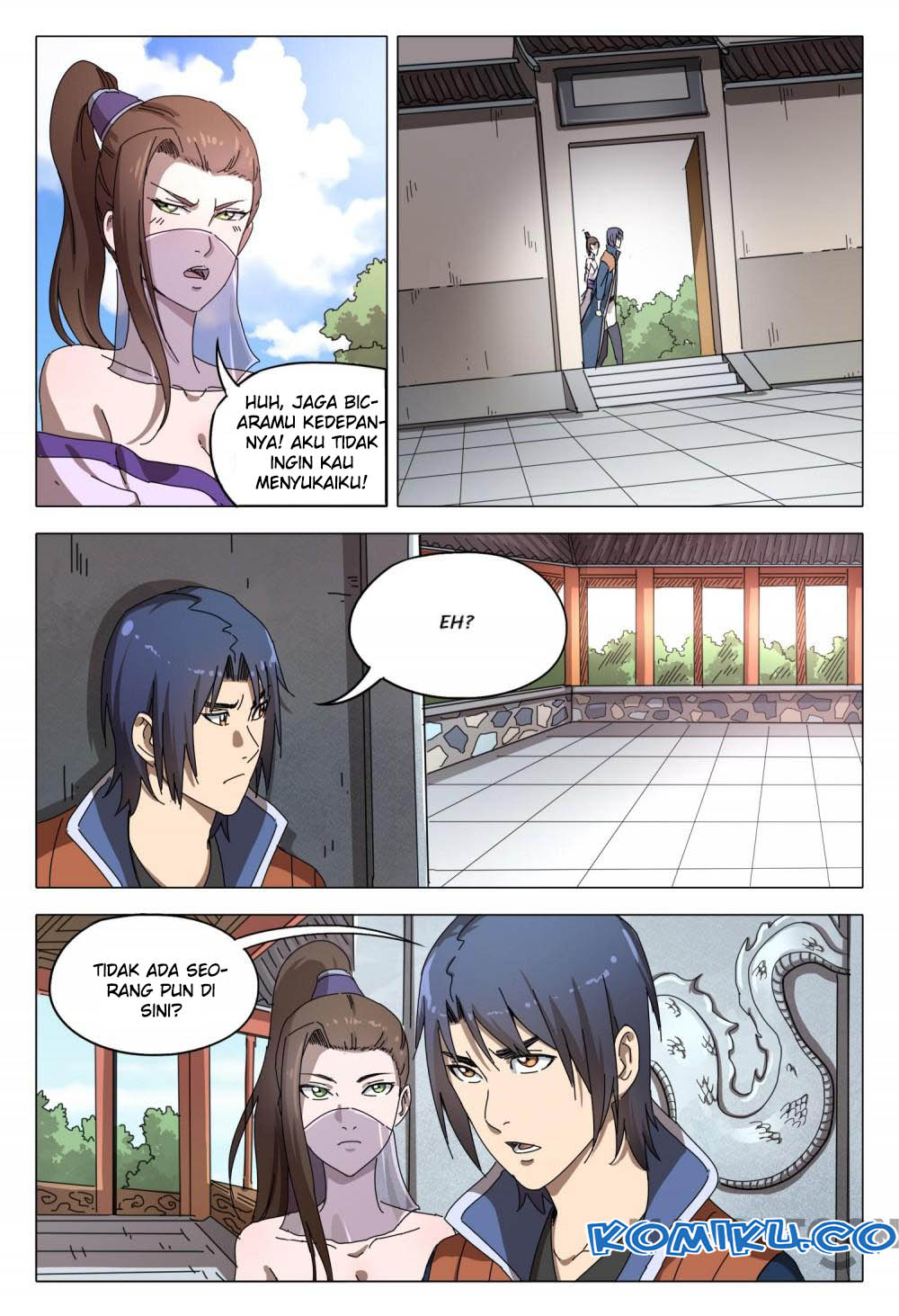 Deity's Path through Ten Thousand Worlds: Chapter 95 - Page 5