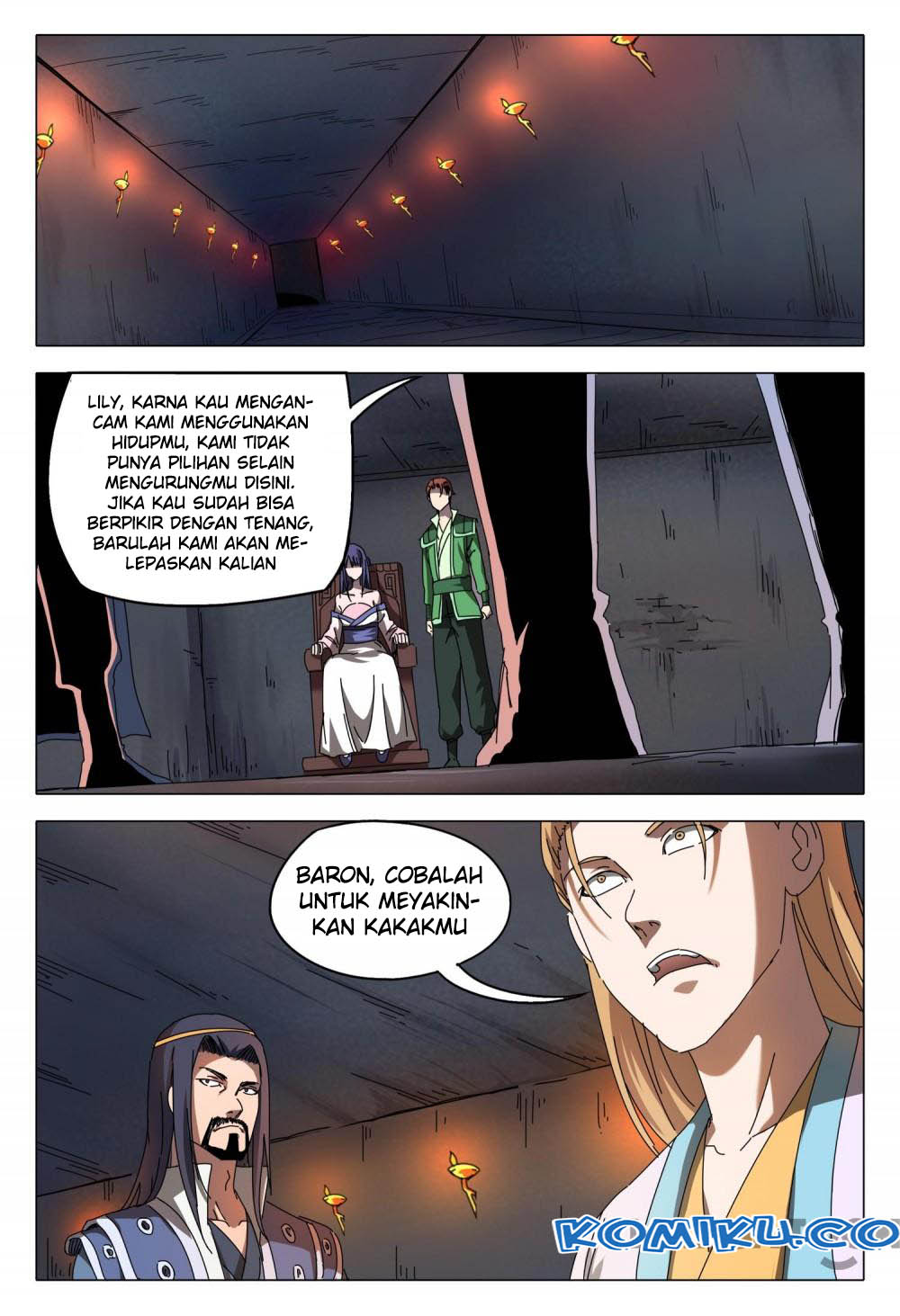 Deity's Path through Ten Thousand Worlds: Chapter 95 - Page 8