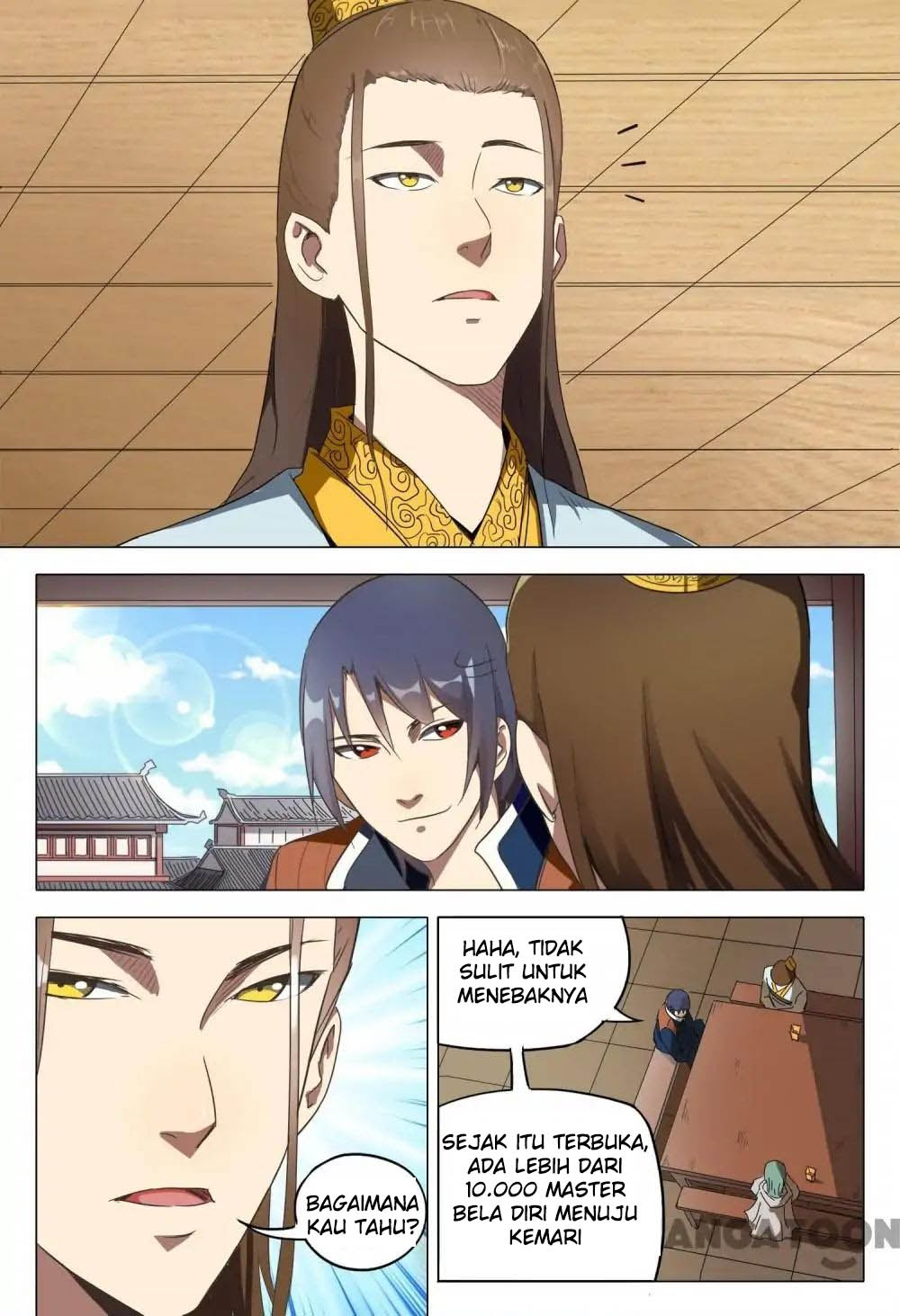 Deity's Path through Ten Thousand Worlds: Chapter 119 - Page 7