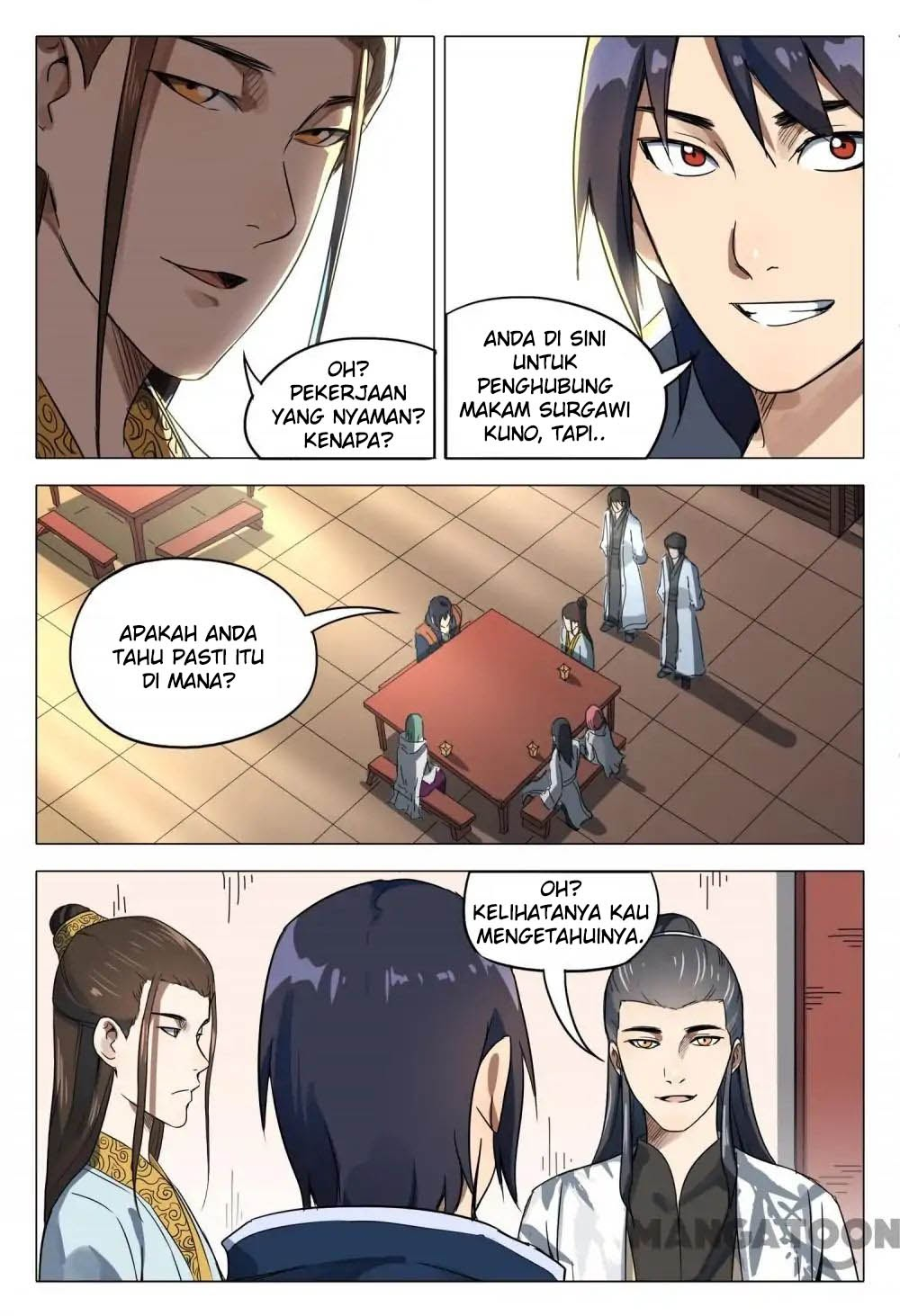 Deity's Path through Ten Thousand Worlds: Chapter 119 - Page 9