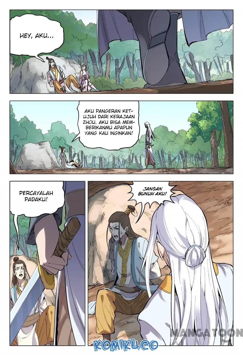 Deity's Path through Ten Thousand Worlds: Chapter 162 - Page 4