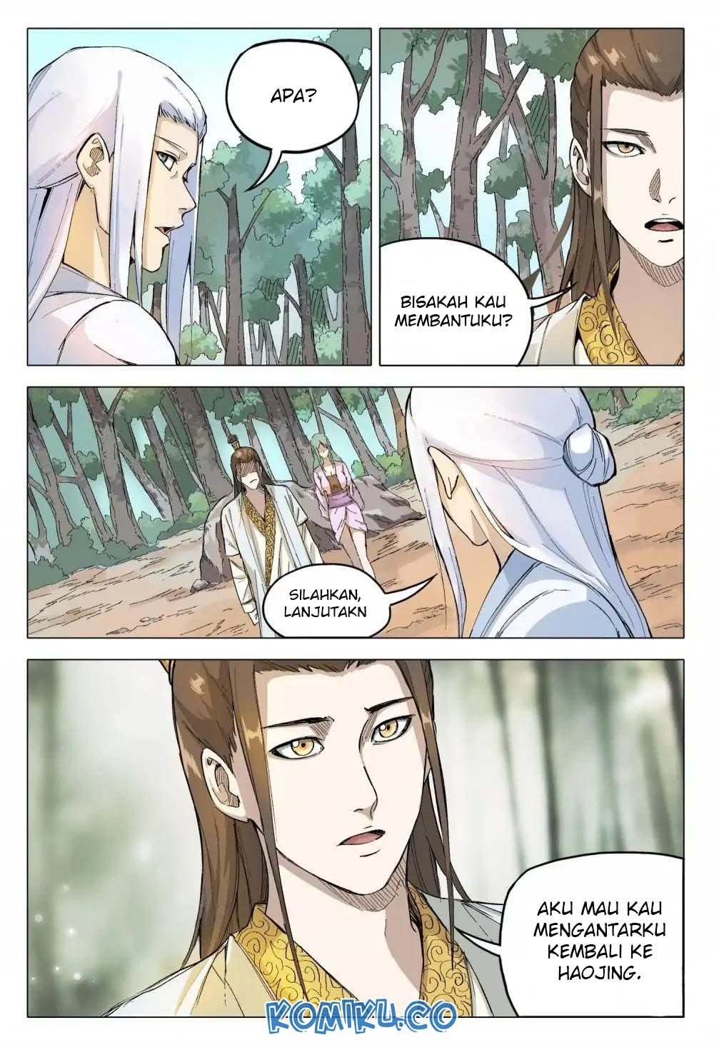 Deity's Path through Ten Thousand Worlds: Chapter 162 - Page 7