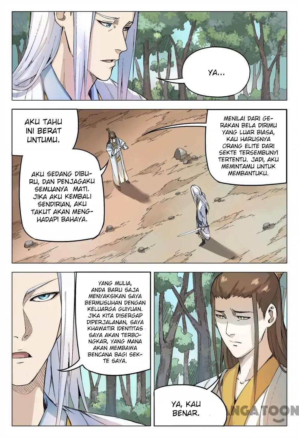 Deity's Path through Ten Thousand Worlds: Chapter 162 - Page 8
