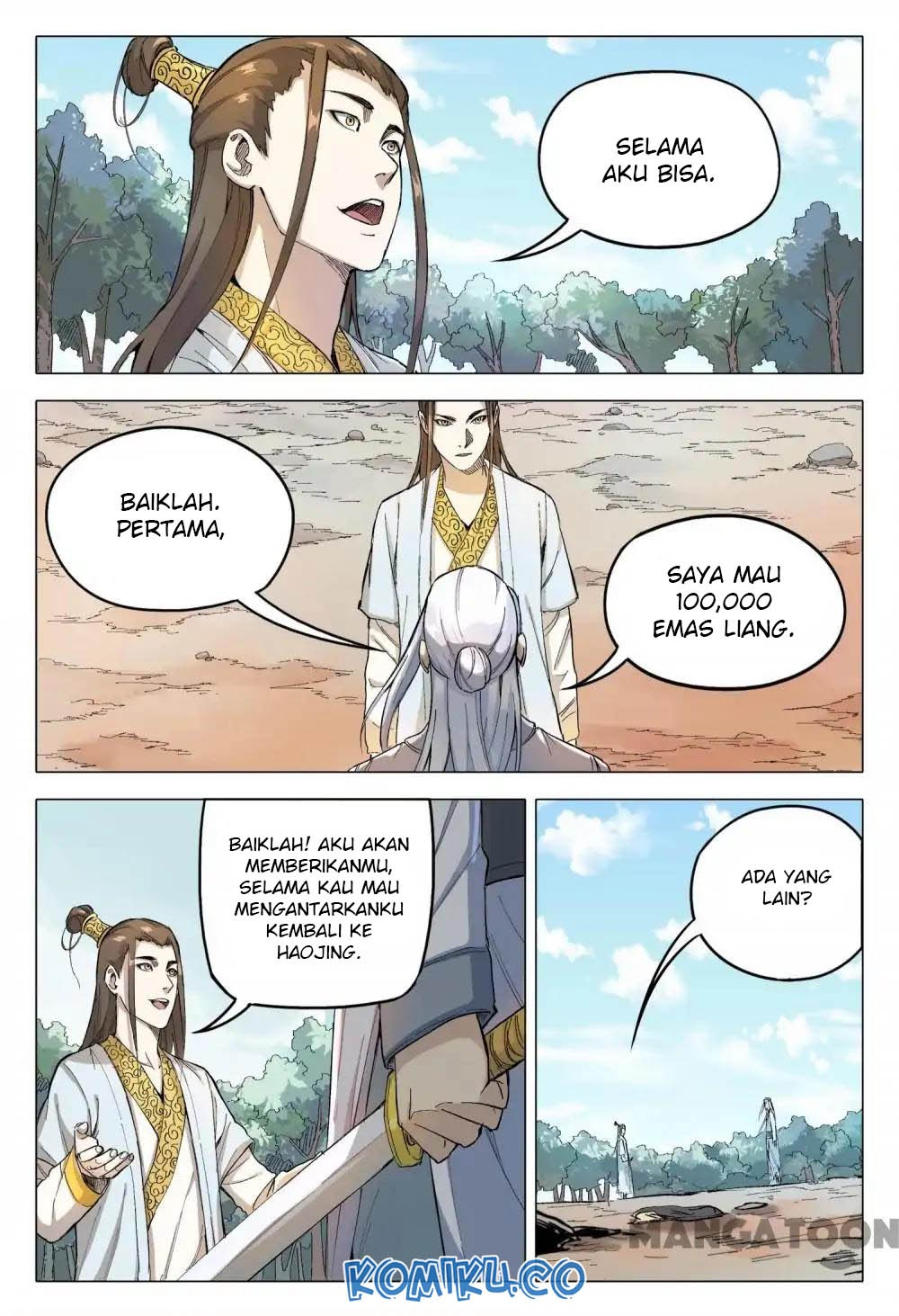 Deity's Path through Ten Thousand Worlds: Chapter 162 - Page 10