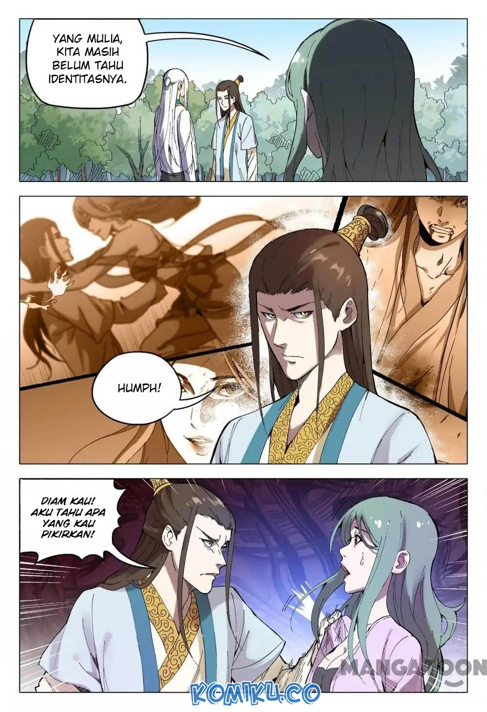 Deity's Path through Ten Thousand Worlds: Chapter 163 - Page 4