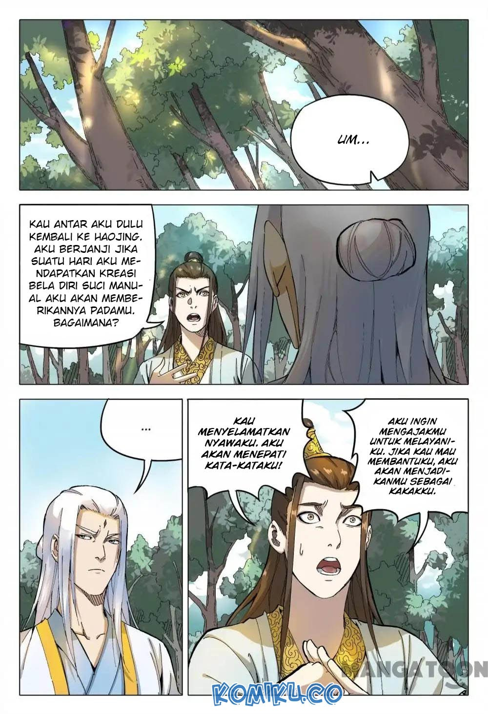 Deity's Path through Ten Thousand Worlds: Chapter 163 - Page 2