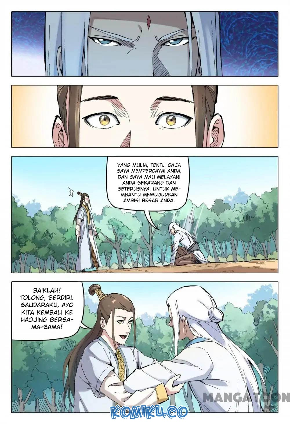 Deity's Path through Ten Thousand Worlds: Chapter 163 - Page 3