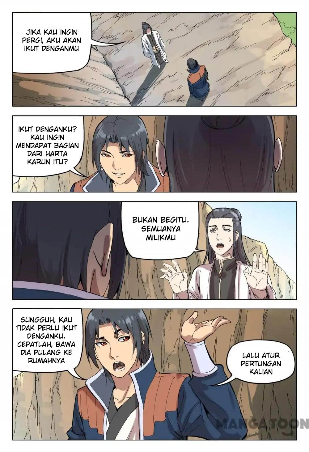 Deity's Path through Ten Thousand Worlds: Chapter 164 - Page 5