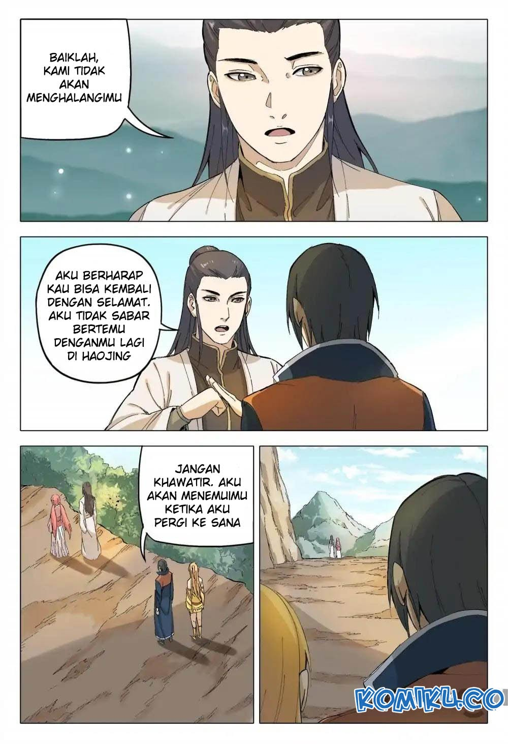 Deity's Path through Ten Thousand Worlds: Chapter 164 - Page 7