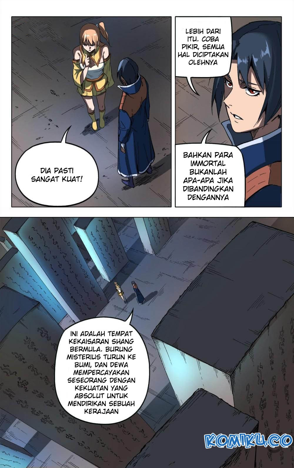 Deity's Path through Ten Thousand Worlds: Chapter 176 - Page 1