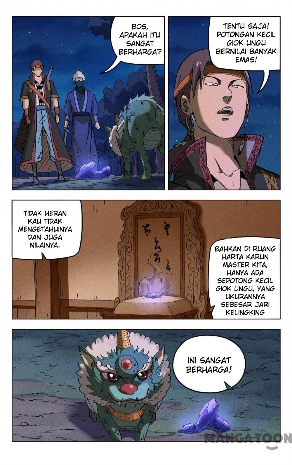 Deity's Path through Ten Thousand Worlds: Chapter 179 - Page 3