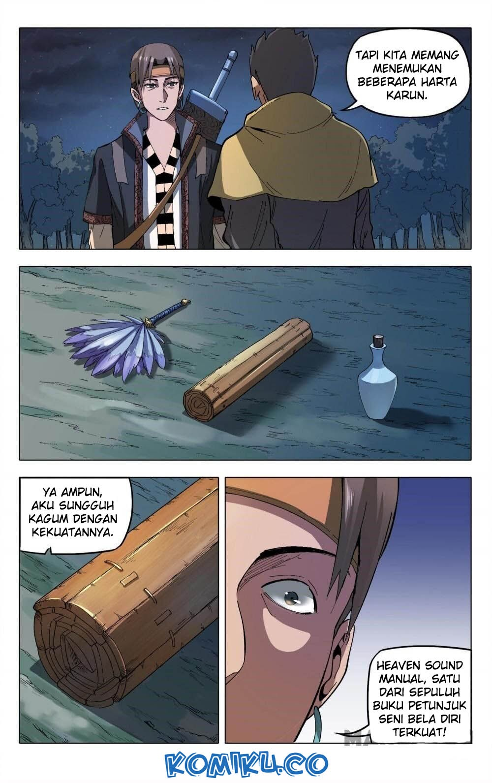 Deity's Path through Ten Thousand Worlds: Chapter 180 - Page 1